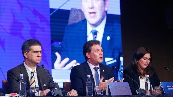 Alejandro Domínguez presidió el Congreso