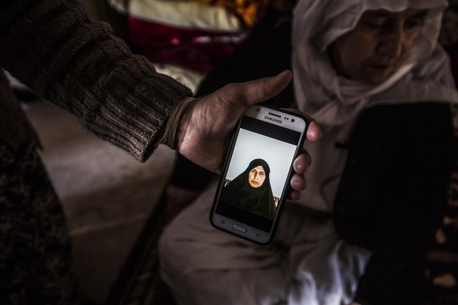 Prueba de vida que los terroristas enviaban a la familia de Sea Haso para exigir el rescate (Pablo Cobos)