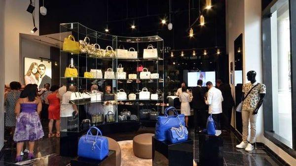 La apertura de la tienda Gucci en Cuba(EFE)