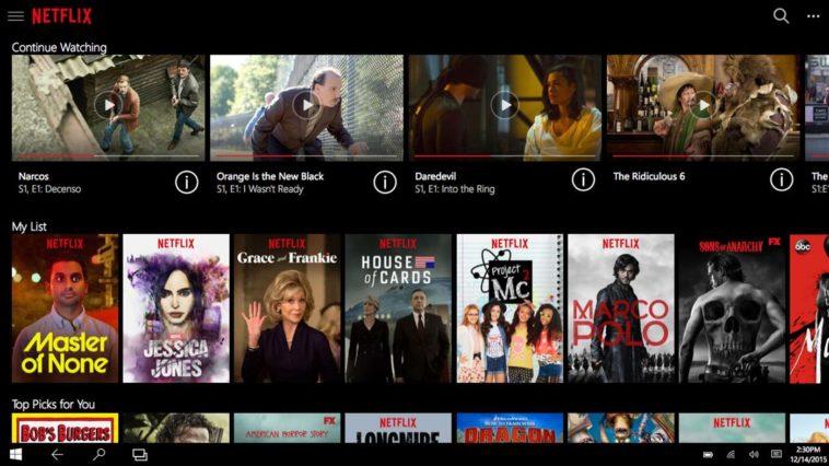 Cómo descargar vídeos de Netflix en Windows 10