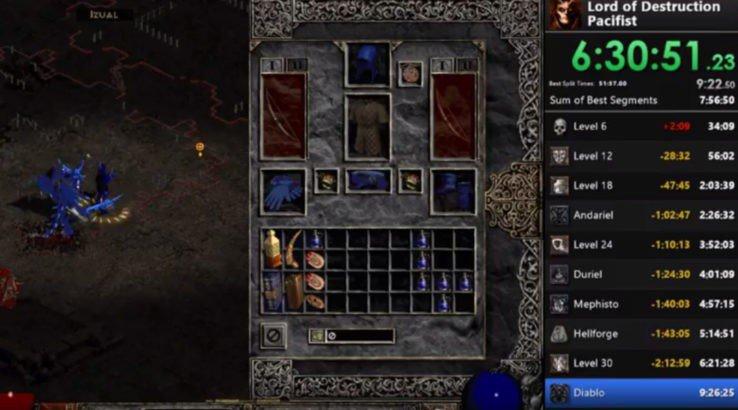 Cómo terminar Diablo II sin atacar ningún enemigo