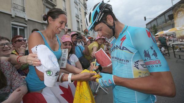 El ciclista italiano Michele Scarponi murió atropellado por un camión mientras entrenaba en su pueblo(Getty Images)