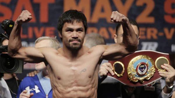 El filipino quiere pelear con McGregor (AP)
