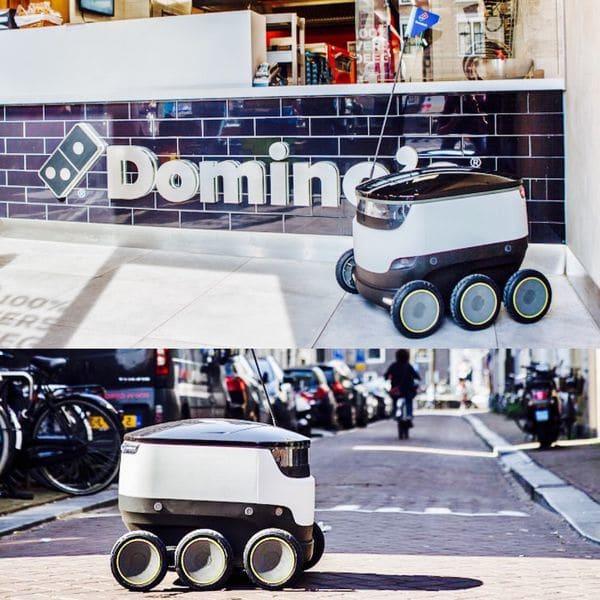 Tanto robots como drones esperan convertirse, en el mediano plazo, en aliados imprescindibles de restaurantes de todo el mundo a la hora de hacer las entregas a domicilio