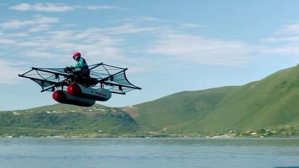 """El Kitty Hawk Flyer es un auto volador: la Administración Federal de la Aviación de los Estados Unidos lo considera sin embargo """"aeronave ultraliviana"""""""