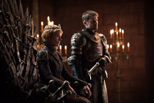 Los hermanos Cersei y Jaime Lannister (Game of Thrones)