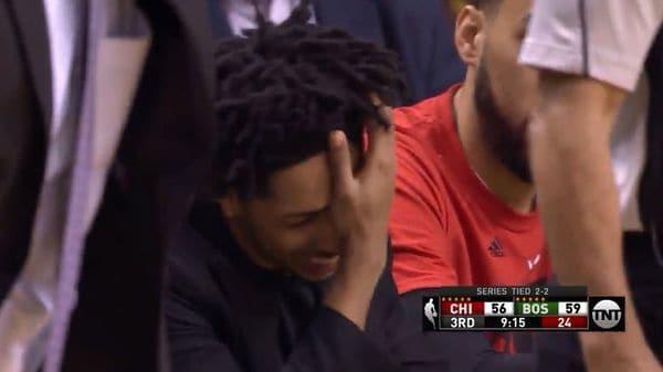 El paupérrimo lanzamiento de un jugador de la NBA que provocó la risa de sus propios compañeros