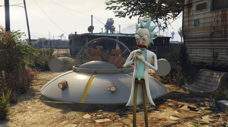 GTA V Rick and Morty: Dos mods imperdibles para los fans