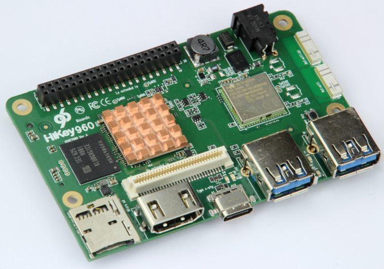 HiKey 960: Mini ordenador con ocho núcleos y 3 GB de RAM