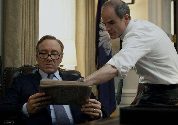 El chief staff del presidente Douglas Stamper es uno de los personajes que se ha mantenido constante a lo largo de toda la serie