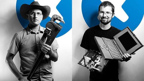 Kyle Wiens y Luke Soules son los creadores de iFixit
