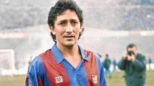 """El paraguayo Julio Cesar Romero, conocido como """"Romerito"""", tiene una particular historia en el Barcelona"""