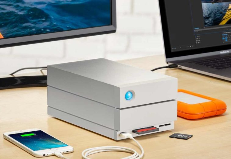 LaCie coloca 20 terabytes en tu escritorio con su nuevo 2big Dock