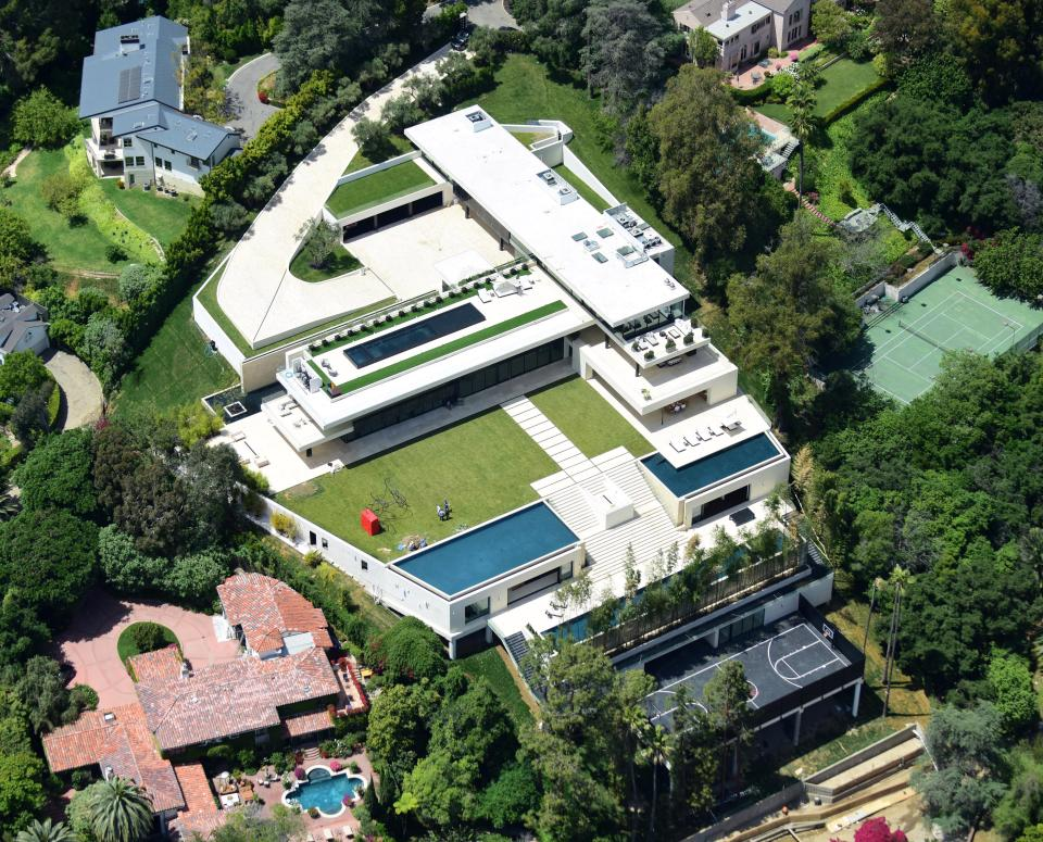 La nueva casa familiar de Beyonce y Jay Z puede ser esta mansión gigante en el barrio de Bel Air de Hollywood