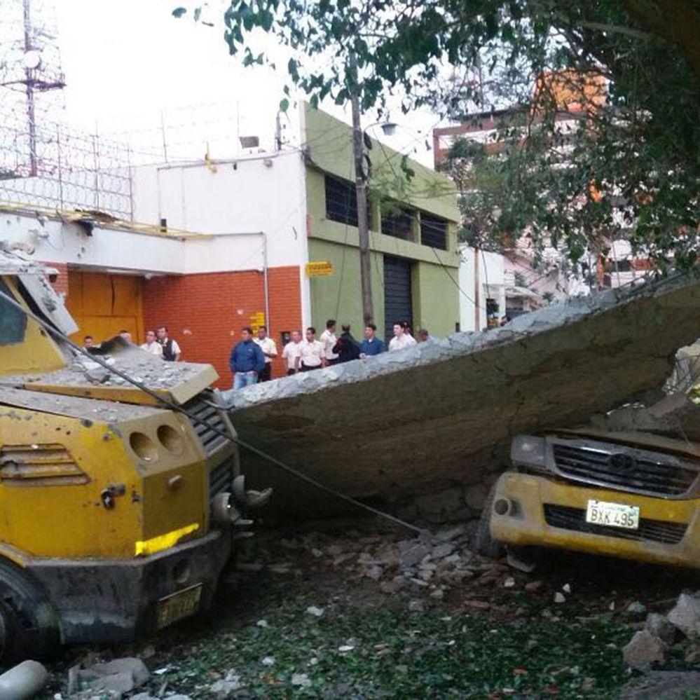 Las imágenes del espectacular asalto millonario a una transportadora de caudales de Ciudad del Este