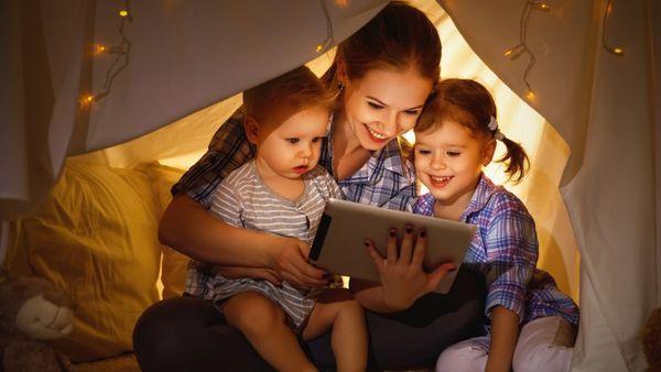 Las pantallas digitales también afectan el sueño de los menores de tres años