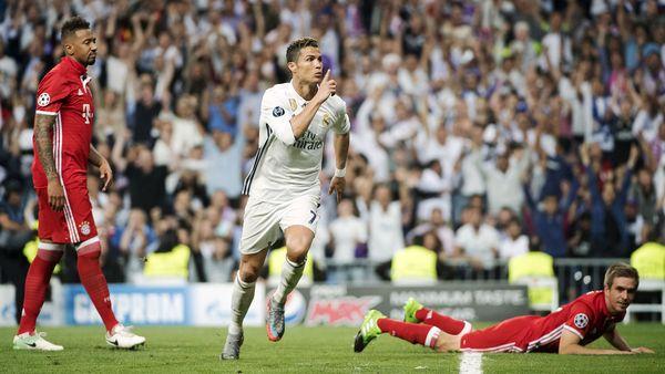 Cristiano estuvo brillante ante el Bayern Munich pero la afición madridista aún lo silba (AFP)