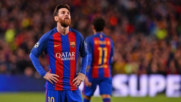 Messi no tuvo un buen desempeño ante la Juventus pero el Camp Nou mostró su apoyo incondicional(AFP)
