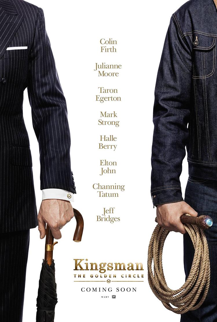 Los agentes secretos regresan en Kingsman: The Golden Circle