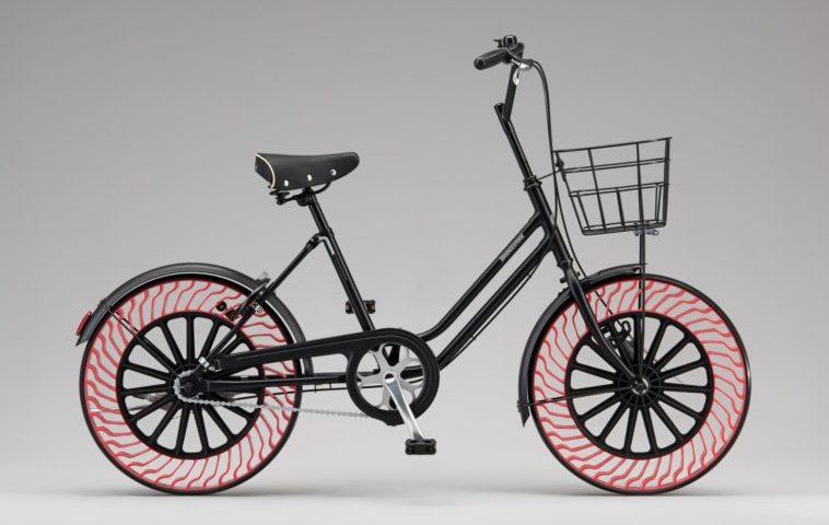 Los neumáticos sin aire para bicicletas, de Bridgestone