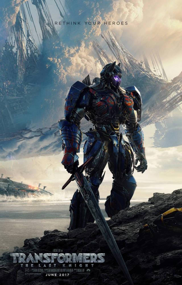 Optimus Prime se vuelve malo en el trailer de Transformers: The Last Knight