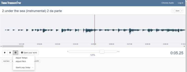 Programas en línea para cambiar la velocidad de reproducción de los archivos de audio