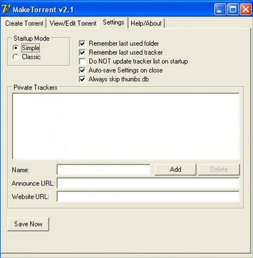 Editar Torrent