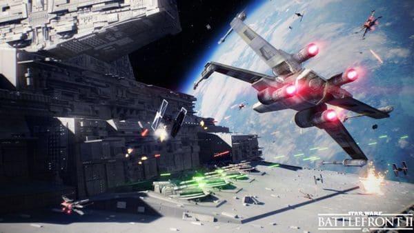 También habrá batallas espaciales en la secuela.