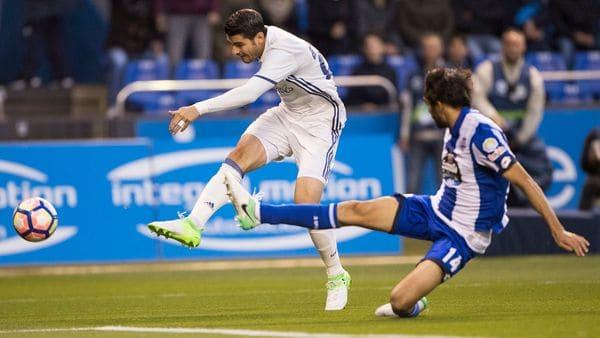 Real Madrid goleó a La Coruña y comparte la punta de La Liga