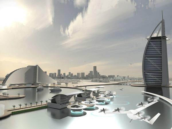 Tras unirse a fabricantes de aviones y a empresas de cargas de coches eléctricos el servicio se lanzará inicialmente en Dallas y Dubai en el año 2020