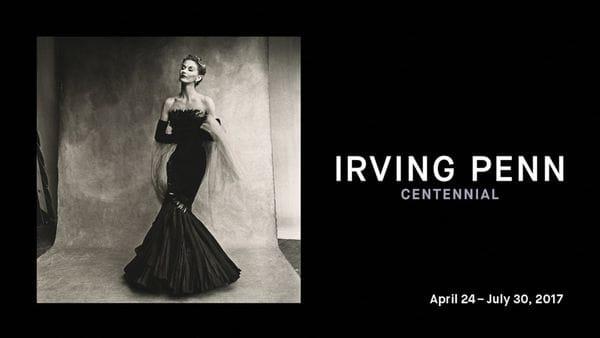 Irving Penn 'Centennial' desde el 24 de Abril al 30 de Julio en la galería 199 del MET.