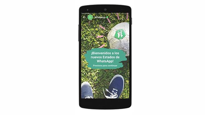 WhatsApp retrocede en su snapchatificación