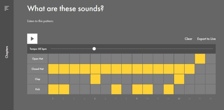 Aprende música online con el portal interactivo de Ableton