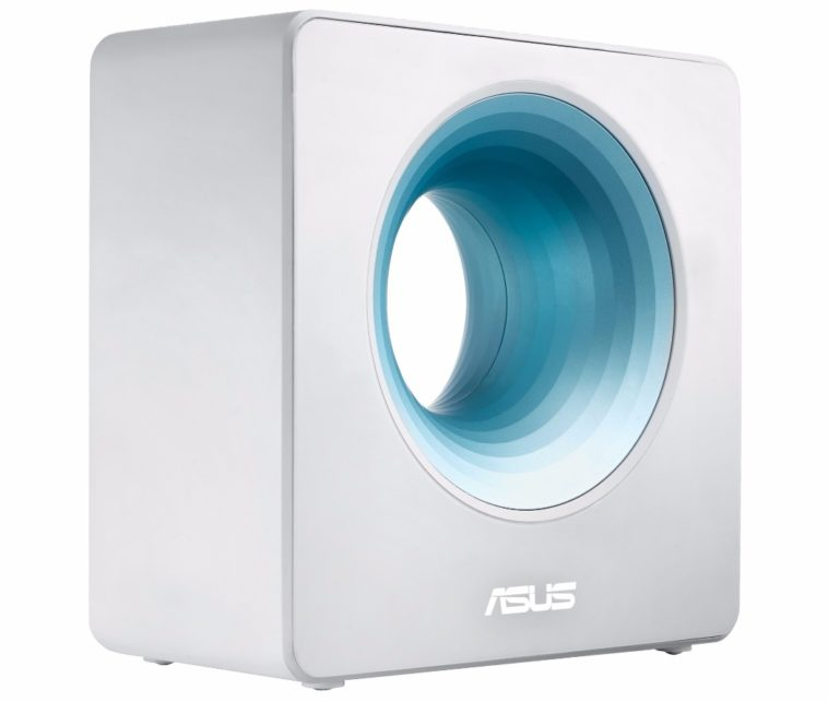 Asus Blue Cave: Un router con un agujero en el medio