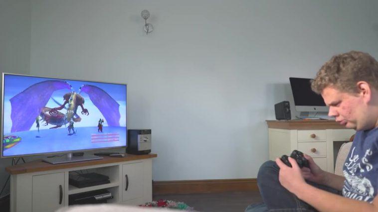 El hombre sin ojos que juega videojuegos (documental)