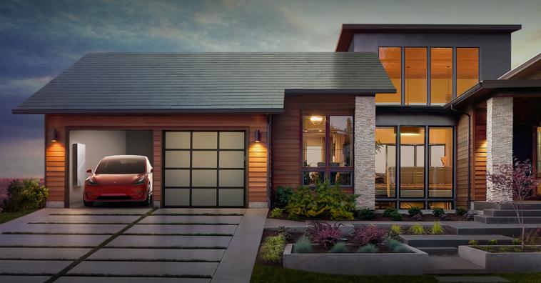 El techo solar de Tesla sale a la venta con garantía de por vida