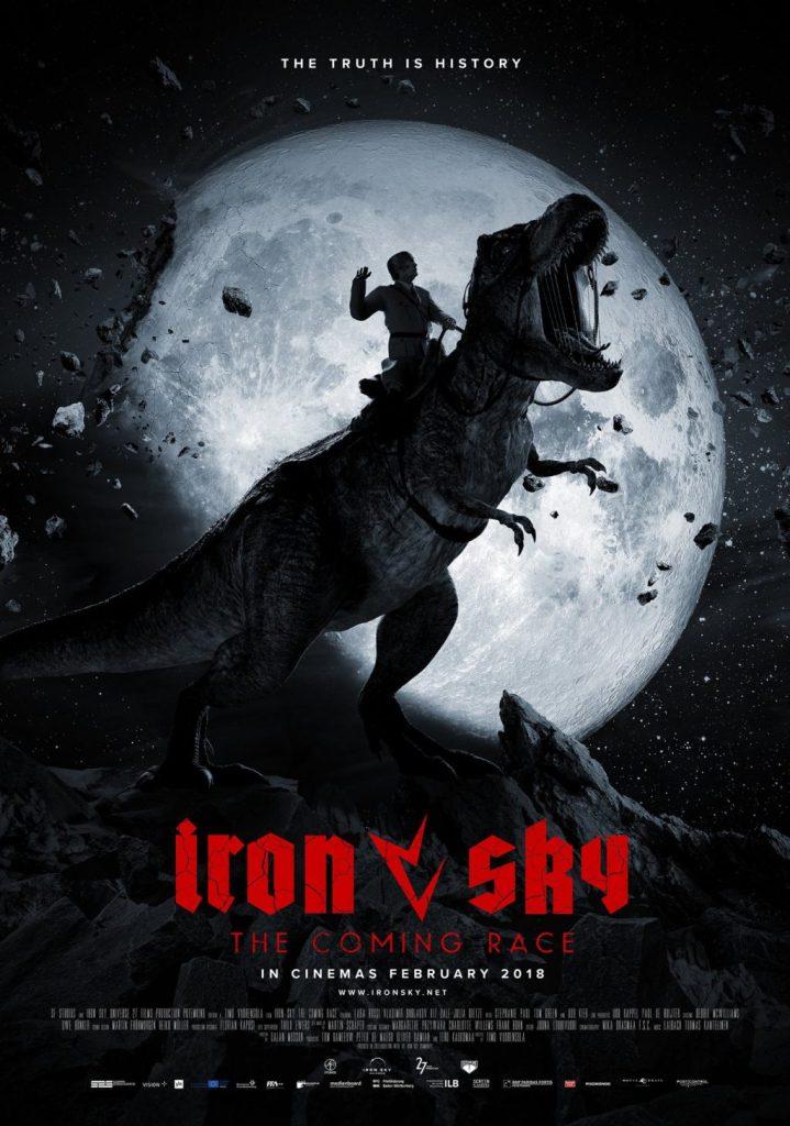 Iron Sky 2: Hitler sobre un Tyrannosaurus rex