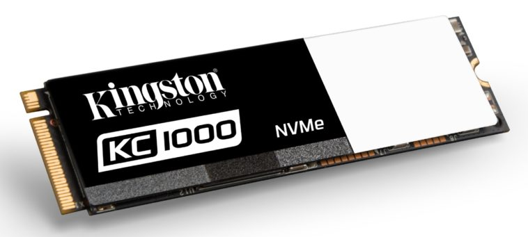 Kingston lanza su primer SSD con interfaz NVMe
