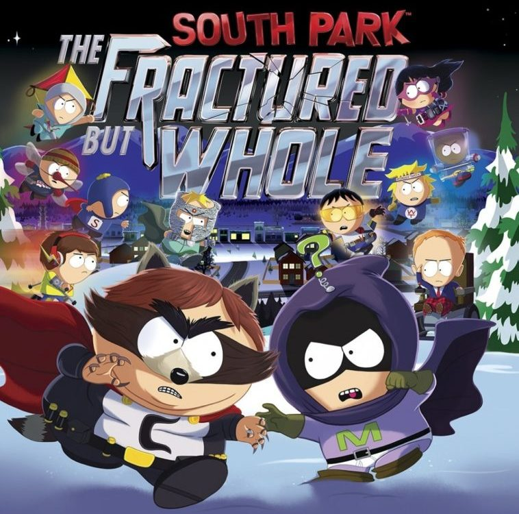 Los superhéroes de South Park: The Fractured but Whole