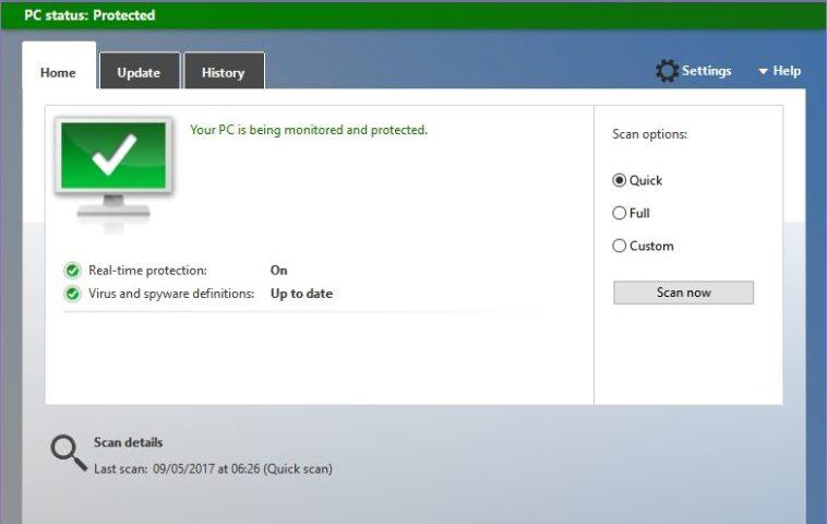 Microsoft corrigió una de las fallas más críticas detectadas en Windows Defender