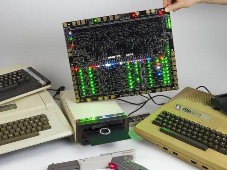 MOnSter 6502: Formidable reproducción a gran escala del clásico procesador 6502