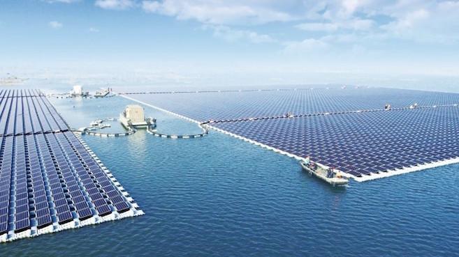 Planta solar flotante más grande del planeta entra en funcionamiento