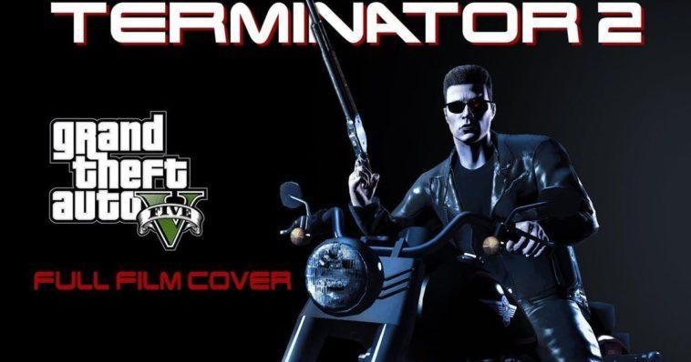 Terminator 2 recreada en Grand Theft Auto V