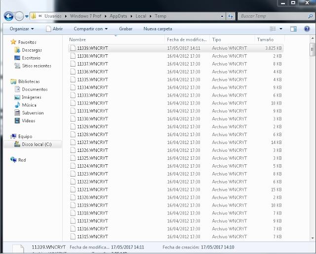 WannaCry File Restorer: Recupera los archivos afectados por WannaCry
