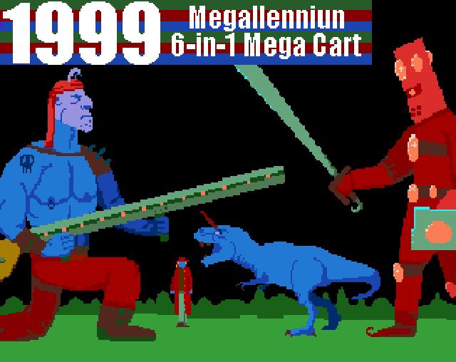 """""""1999: Megallennium 6-in-1 Mega Cart"""": Videojuego homenaje a los cartuchos multijuego"""
