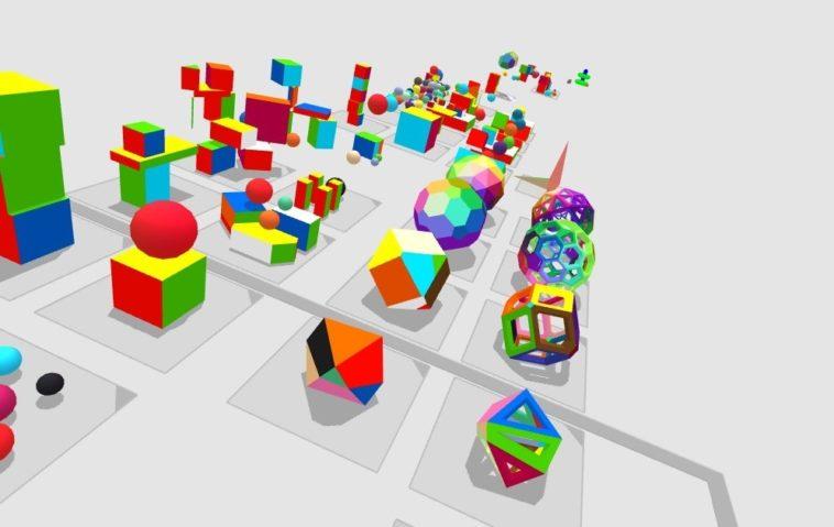 4D Toys: Una caja de juguetes virtuales en cuatro dimensiones