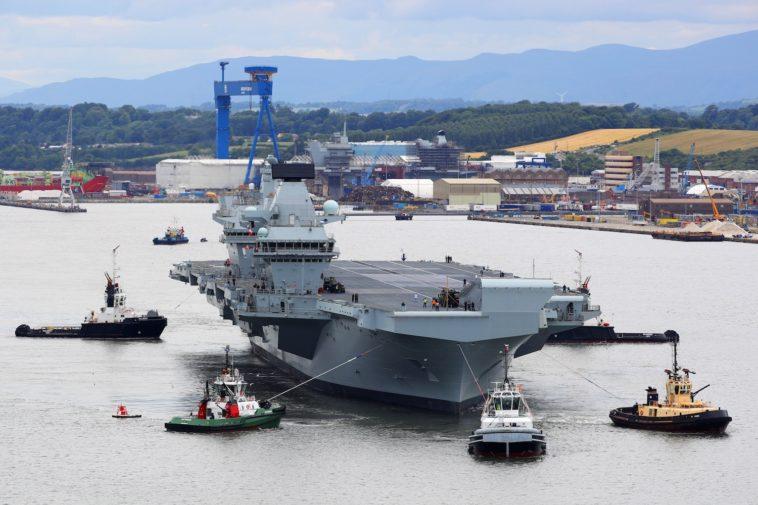 El buque de guerra más grande del Reino Unido usa Windows XP