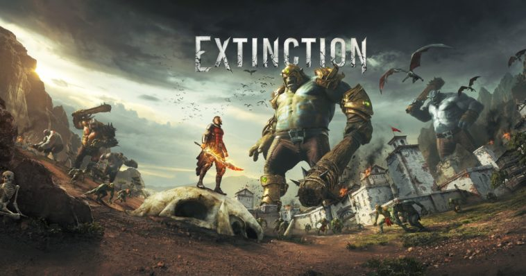 Extinction: Decapita gigantescos ogros