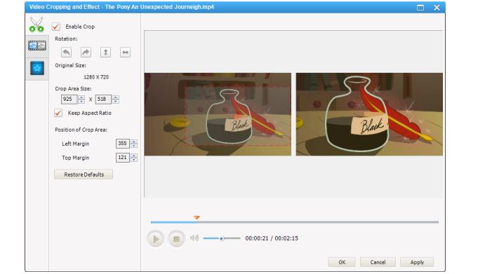 También podrás agregar una imagen para todos los vídeos