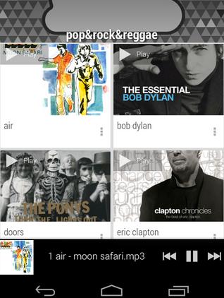 Programas para reproducir música desde Dropbox